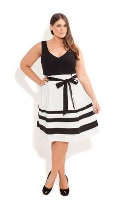 $44 Plus Size So Cute Color Dress - City Chic - City Chic