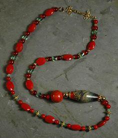 "oeil gemmes perles rondes Collier 18/"" AAA belle 12 mm naturel tiger/'s"