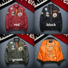 Men Bomber Jacket 2016 Fashion Male Coats Military Hip Hop Pilot Windbreak Kanye West Flag Mens Nasa Jackets Man Clothes