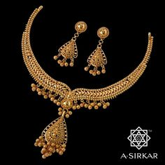Manmadhakalai —- the art of wooing —- cannot be taught, it is told. But who … – wedding Gold Earrings Designs, Gold Jewellery Design, Gold Jewelry, Gold Necklace, Necklace Designs, Gold Set, Indian Jewelry, Wedding Jewelry, Weapons