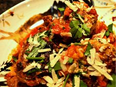 Sicilian Meatballs in Pork Ragu