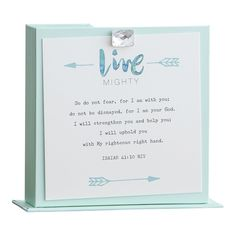 Christian Gift Light Blue Scripture Memory Cards Under U20 From Amazon