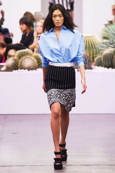 #Iceberg #2015 #Fashion #Show #ss2015 #mfw #Milan #Fashionweek via @TheCut