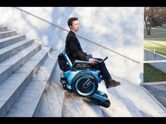 Elektrický invalidní vozík Scewo zvládne vyjet i schody – DesignVid.cz
