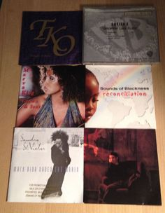 Prince Associates 6 CD Lot Marva King TKO Monte Moir Sounds Of Blackness