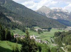Mazzin in val di Fassa. Trentino