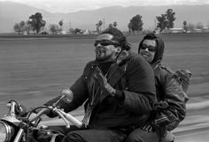 Bill Ray - buzzard and an old lady - california freeway - 1965