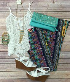 Crochet Dreams Top: White