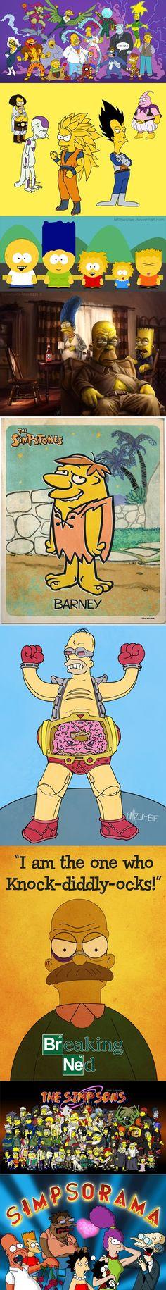Simpsons parodie