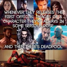 Yup. Deadpool is my type of superhero.