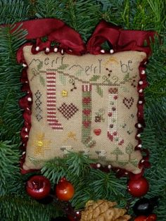 Shepherds Bush Cross Stitch. Merry Be. | stitch goods | Pinterest