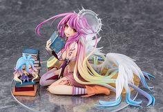 No Game No Life Jibril 1:7 Pre-painted PVC Figure starts preorder, 10% off now! View here: http://www.blacknovatoys.com/no-game-no-life-jibril-1-7-pre-painted-pvc-figure.html?utm_content=buffer22591&utm_medium=social&utm_source=twitter.com&utm_campaign=buffer #ngnl