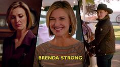 New credits: Brenda strong as Ann Ewing