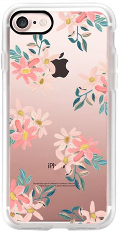 Pink Daisies iPhone 7 and iPhone 7 Plus Case by Chloe Hall | Casetify