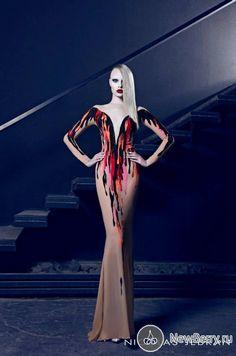 Nicolas Jebran Haute Couture осень-зима 2014-2015