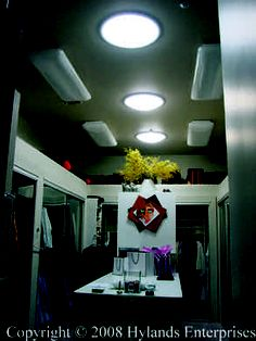 tube skylights perf for closet!