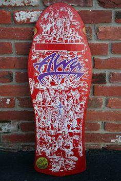 The Ultimate Skateboard Collection Alva Skateboards, Skateboard Deck Art, Warriors, Military History