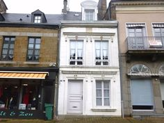 House for sale in Pays de la Loire, Mayenne (53), Ernée   French-Property.com Granite Fireplace, Side Road, Floor Sitting, Wood Store, Small Courtyards, Wooden Shutters, French Property, Ventilation System, Double Glazed Window