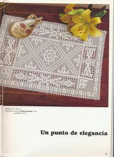 View album on Yandex. Crochet Doily Patterns, Crochet Doilies, Crochet Table Mat, Filet Crochet, Household Items, Views Album, Table Runners, Diy And Crafts, Knitting