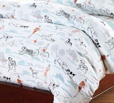 A Walk In The Park Cotton Jersey Duvet Cover...siddys room