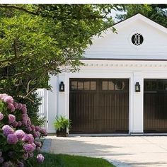 I never knew it was possible to fall in love with a garage  Image via Anne Decker Architects.