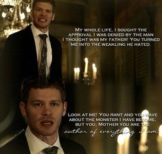 The Originals 2x03 He broke my heart with this line