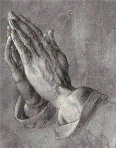 Praying Hands Cross Stitch Pattern