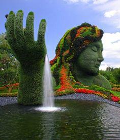 Mother Earth   Montreal Botanical Garden, Montreal, Canada