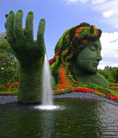 Mother Earth - Montreal Botanical Garden, Montreal, Canada