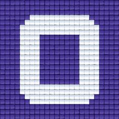 X Letter O | Pixel Party