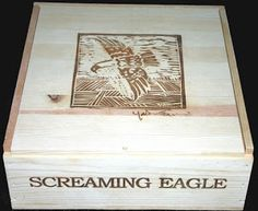 Wooden Wine Crate Profile: Screaming Eagle