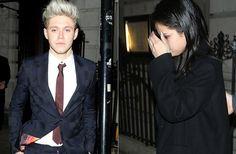 TOTAL unauffällig: Selena Gomez und Niall Horan wurden am Wochenende in London beobachtet, als sie gemeinsam die Abschluss-Party der One-Direction-Tour besuchten.
