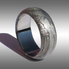 Seymchan Meteorite Ring