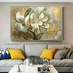 Gold art 2 pieces wall art Abstract print On Canvas original art ready to hang framed painting print art home Decor wall pictures Gold Flower Acrylic Painting On Canvas Original Extra Large Floral Wall Pictures Art Gold leaf Dinni Abstract Canvas Art, Acrylic Painting Canvas, Painting Frames, Painting Prints, Abstract Paintings, Acrylic Art, Abstract Print, Hope Painting, Wall Art Sets