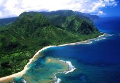 Kauai...where I went for my honeymoon. :-)  What an incredibly gorgeous, unforgettably beautiful place!
