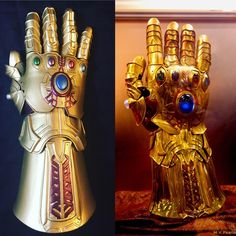 Thanos keeps a tight grip on the galaxy with the Infinity stones places firmly in his gauntlet. The device allows him to rule and maintain power. Redditor Shotzy Props crafted a replica of the acce…