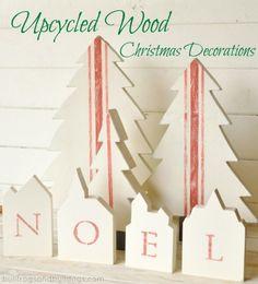 upcycled christmas decor