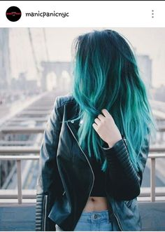5 Hair Color Trends You Should Not Miss for This Autumn – Teal green ombre hair color idea for dark hair girls, pretty Hair Color 5 Fabulous Hair Color IdeTeal Green Ombre Hair Fresh Teal Hair Color Pretty Hair Color, Ombre Hair Color, Turquoise Hair Ombre, Dyed Hair Ombre, Blue Hair Colour, Dyed Hair Ends, Blue Dip Dye Hair, Color Black, Colour Colour