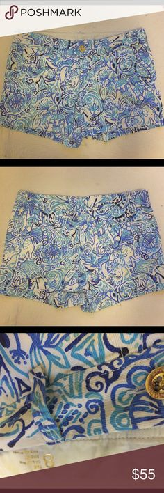 Lily Pulitzer Callahan Shorts These Lilly shorts are perfect for any Lilly lover! In pristine condition and only worn about three times! Not sold in stores! Lilly Pulitzer Shorts