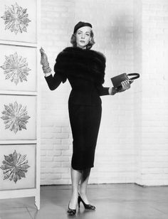 Portrait of Lauren Bacall in Designing Woman directed by Vincente Minnelli, 1957