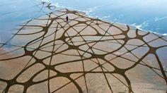A Estrambólica Arte = ciência + tecnologia + arte: Arte na praia – geometria, natureza e criatividade...