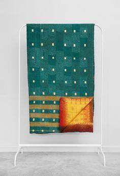 Kantha Quilt Geo 227cm x 159cm