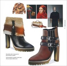 Shoes Trend Book Nº 31 - F/W 15/16 - Accessoires/shoes - Styling ...