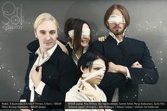 Attack on Titan / No Name - BNaumovski(Borivoje/Ori) Erwin Smith, Delusor(Damien) Levi, Mistiqarts Hanji Zoe Cosplay Photo - Cure WorldCosplay