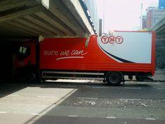 SURE WE CAN.. SICURI CHE POTETE? http://www.ilpeggiodellarete.it/sure-we-can-sicuri-che-potete/ #camion #ponte