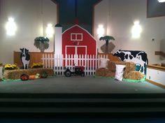 Farm theme Vacation Bible School!