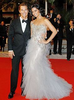 Matthew McConaughey & Camila Alves are married!