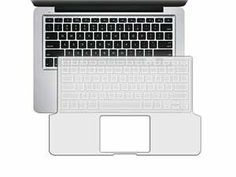 "Clear Light Blue Snap On Case Compatible With 13-Inch MacBook® Pro W/ Clear 13.3"" Keyboard Full Skin"
