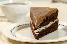 den beste sjokoladekaken Norwegian Food, Norwegian Recipes, Cottage Cheese, Cake Recipes, Cooking Recipes, Yummy Food, Sweets, Cookies, Den