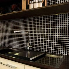 Black mosaic tiles | Buy mosaic tiles on line at low trade prices